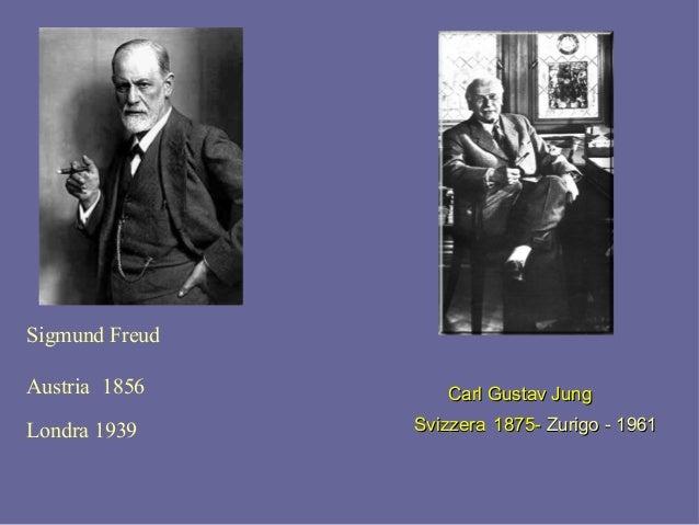 Sigmund Freud Austria 1856 Londra 1939 Carl Gustav JungCarl Gustav Jung SvizzeraSvizzera 1875-1875- Zurigo - 1961Zurigo - ...