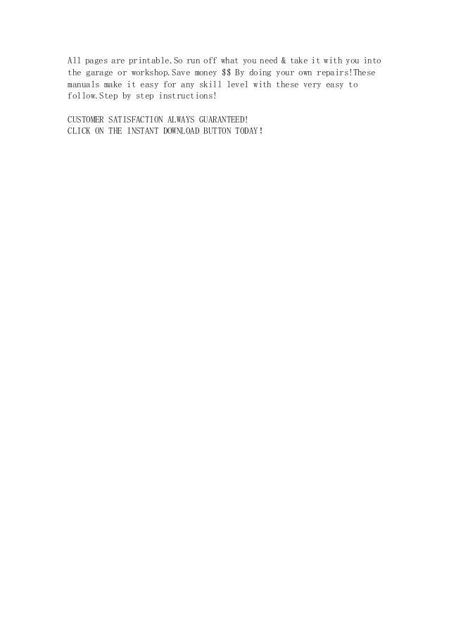 1990 1993 suzuki vx800 service repair manual instant download