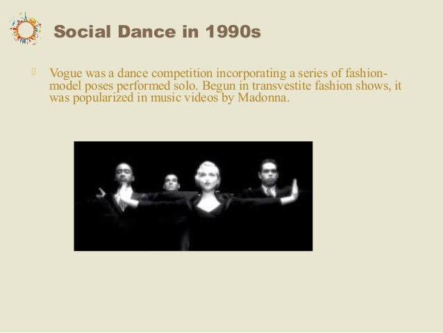 what dances were popular in the 1990s