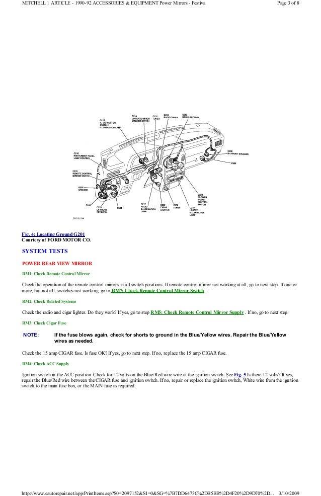 1991 Ford Festiva Radio Wiring Diagram - Trusted Wiring Diagram •