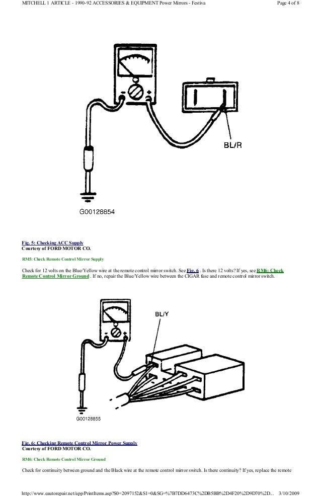 service manual  book repair manual 1991 ford festiva