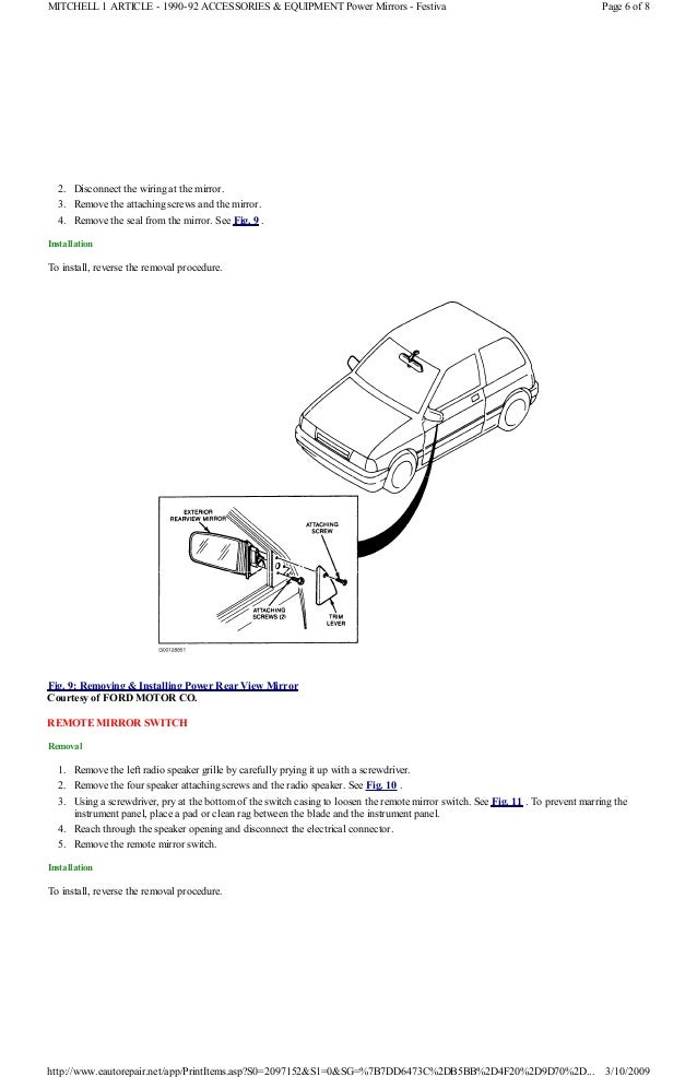 1992 Ford Festiva Wiring Diagram wiring diagrams image