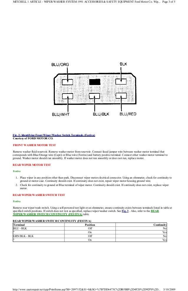 ford festiva distributor wiring wiring diagram  1990 ford festiva wiring diagram