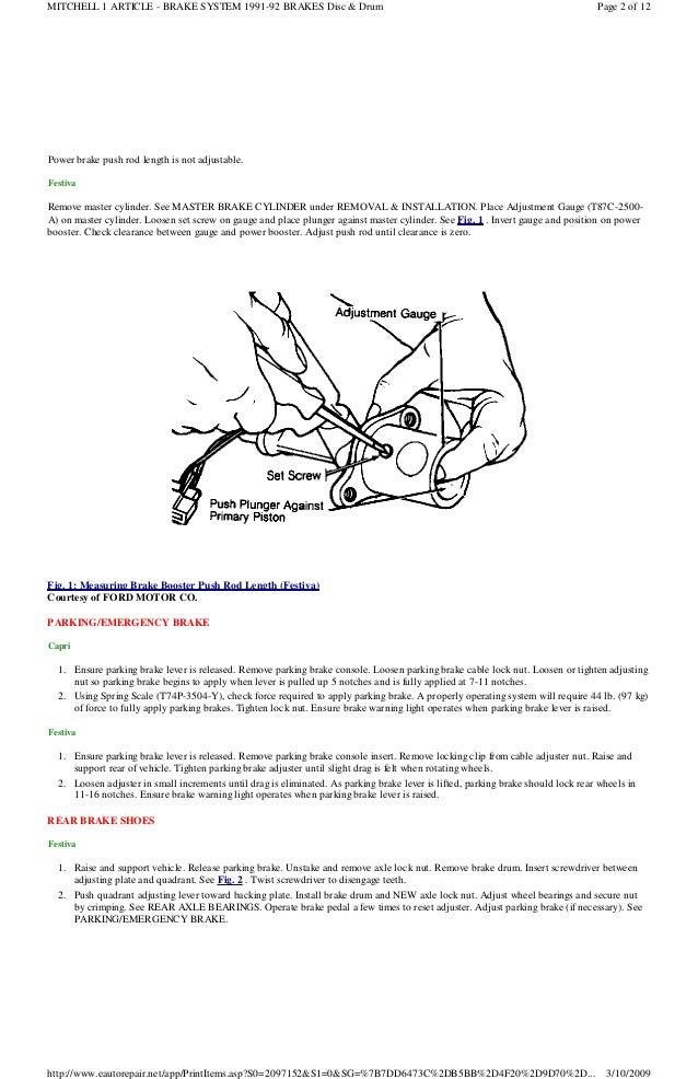 1991 ford festiva manual1991 Ford Festiva Engine Diagram #8