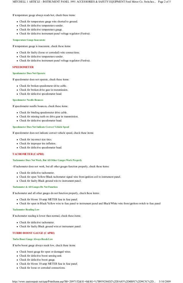 1991 ford festiva manual 3