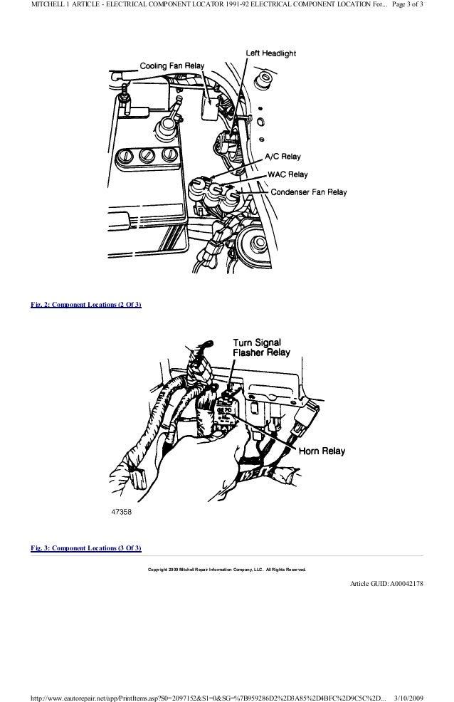 1991 ford festiva manual 1991 Toyota MR2 Wiring-Diagram 48