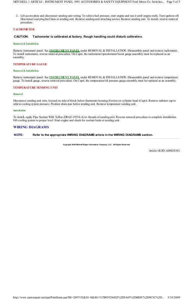 1991 ford festiva manual 6 2