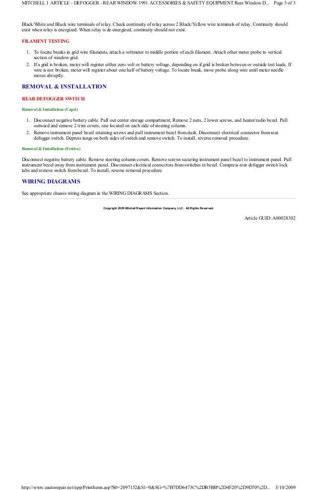 1991 ford festiva manual 9