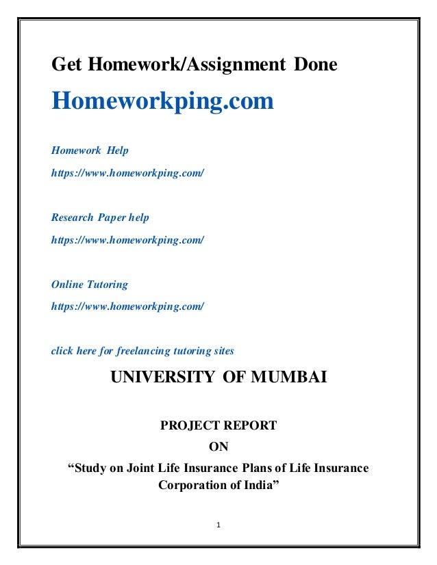 1 Get Homework/Assignment Done Homeworkping.com Homework Help https://www.homeworkping.com/ Research Paper help https://ww...