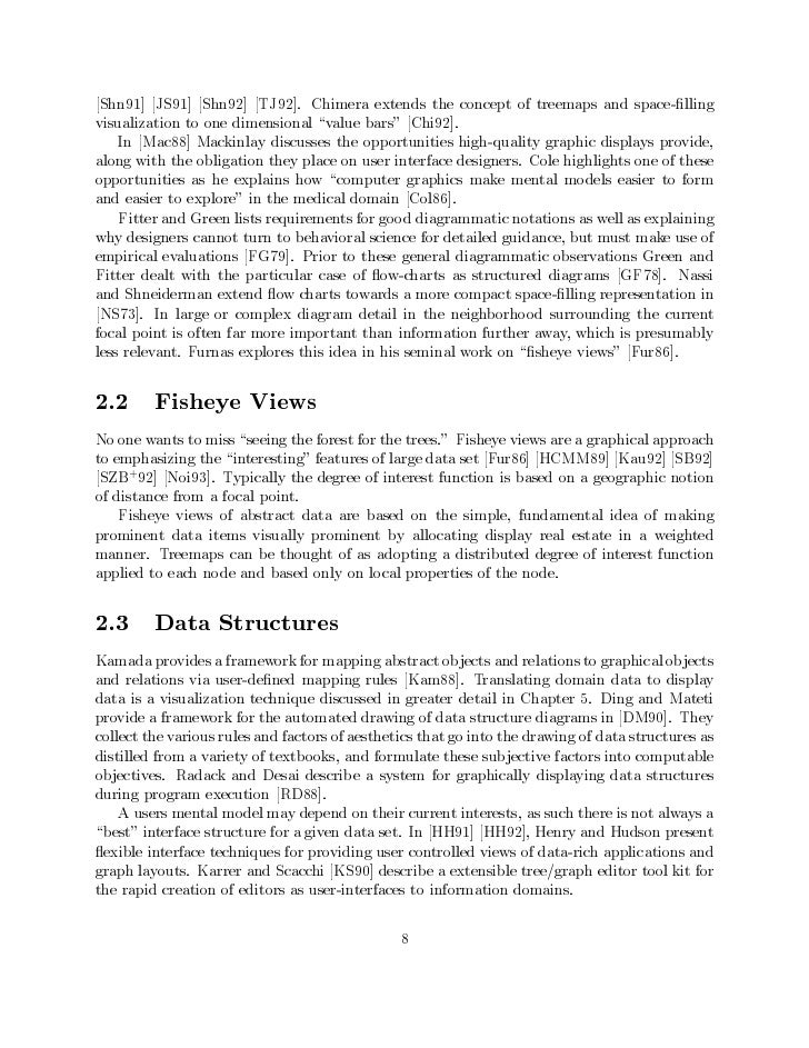 Shn91] JS91] Shn92] TJ92]. Chimera extends the concept of treemaps and space- llingvisualization to one dimensional value ...