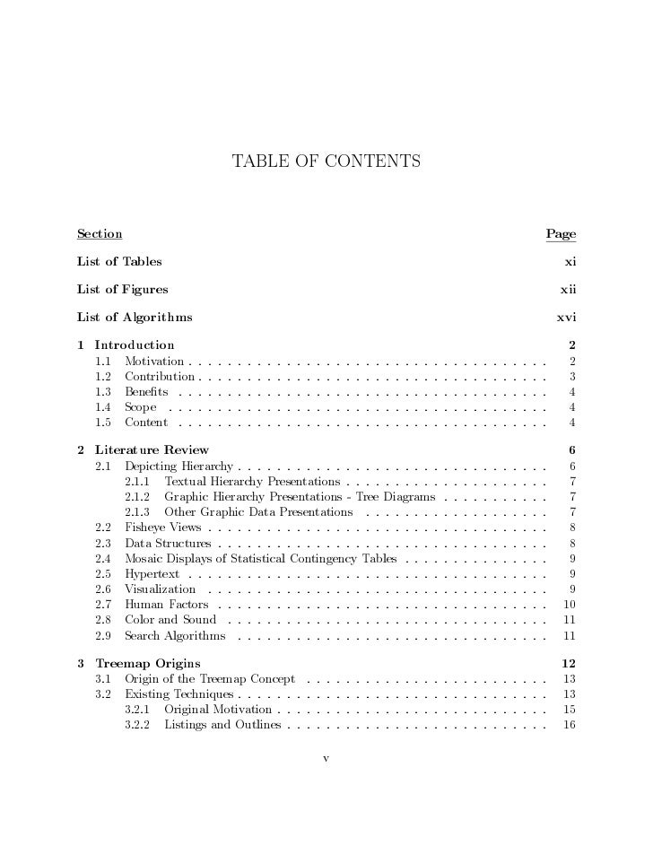 TABLE OF CONTENTSSection                                                                                      PageList of ...