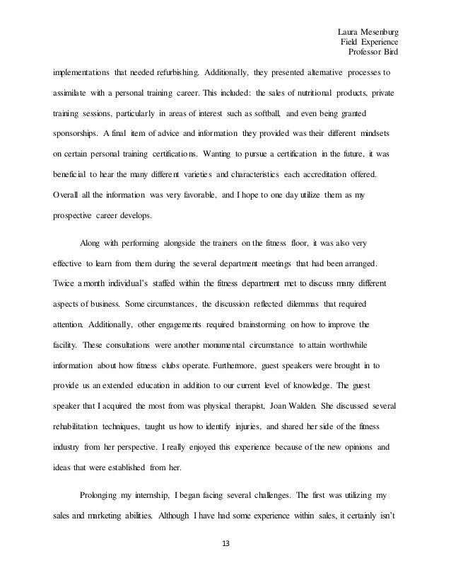 reflection paper critiqued other 4