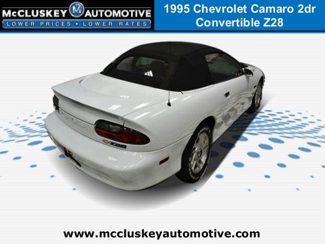used 1995 chevrolet camaro convertible used cars in cincinnati ohio. Black Bedroom Furniture Sets. Home Design Ideas