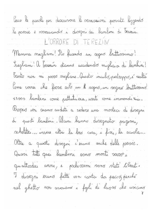 1995 mostra bambini di terezìn elaborati fatti nelle scuole elementari di legnano