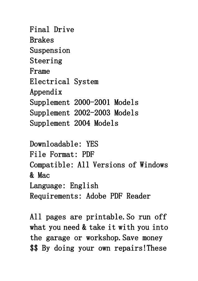 2003 kawasaki vulcan 800 classic service manual drive