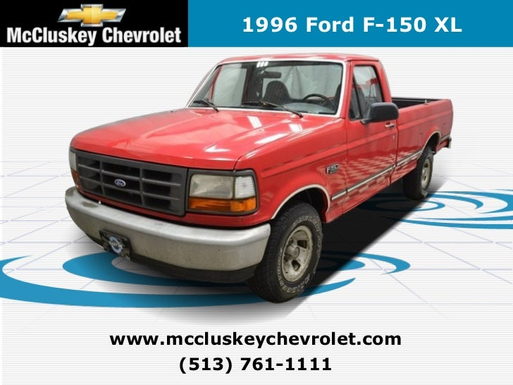 used 1996 ford f 150 special xl pickup truck kings automall cincinn. Black Bedroom Furniture Sets. Home Design Ideas