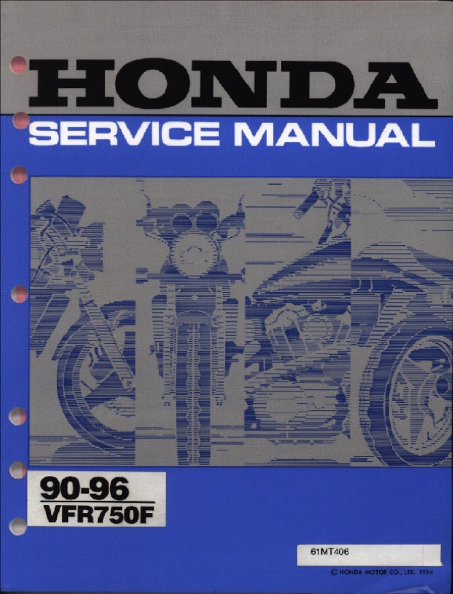1996 honda vfr750 ft service repair manualSlideShare