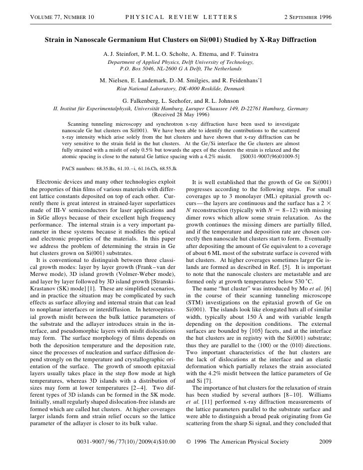 VOLUME 77, NUMBER 10                      PHYSICAL REVIEW LETTERS                                                2 SEPTEMB...