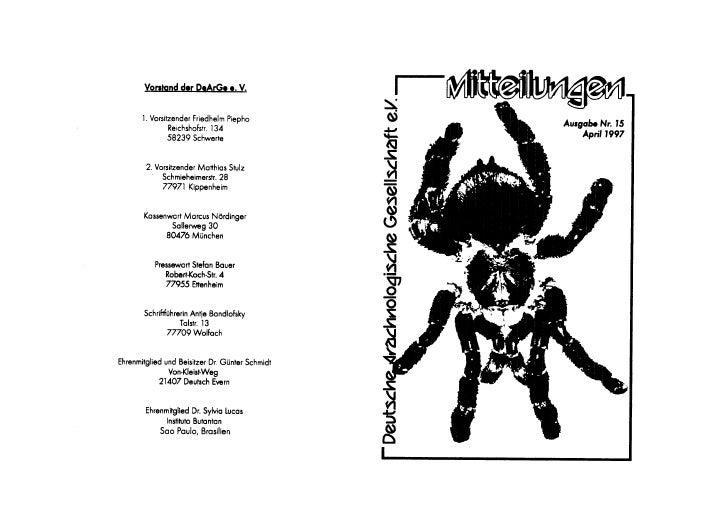 DeArGe Mitteilungen 4/1997