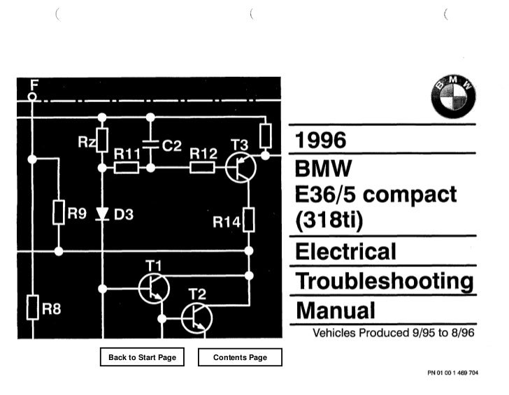 BMW 318i Wiring Diagram E30 Harness €� Free