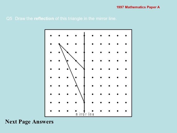 Interactive Voting - 1997 mathematics paper a