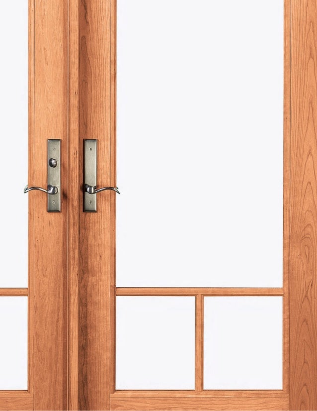 A R C H I T E C T U R A L Marvin Windows and Doors HARDWARE