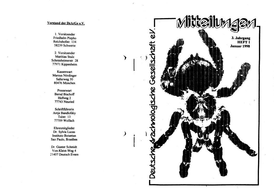 DeArGe Mitteilungen 1/1998