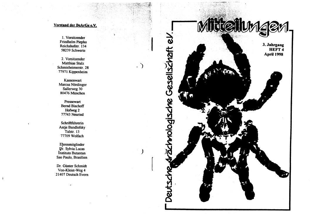 DeArGe Mitteilungen 4/1998