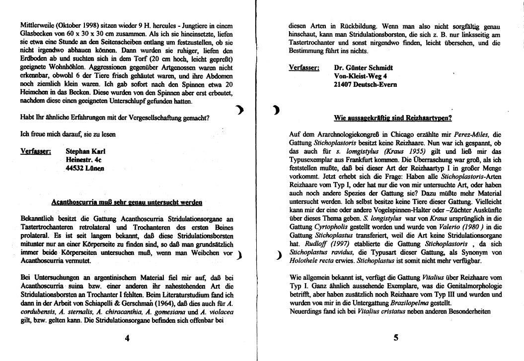 DeArGe Mitteilungen 11/1998 Slide 3