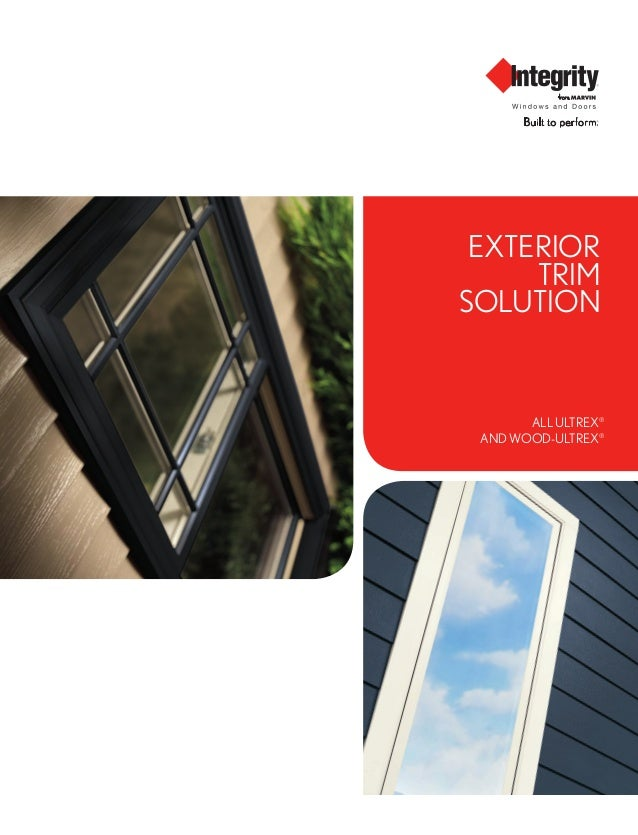 Exterior Trim Solution ALL ULTREX® AND WOOD-ULTREX®