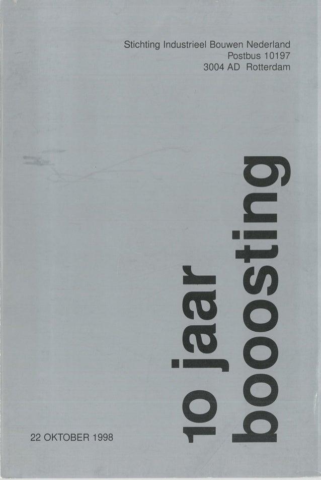 1998 - Boek 10 jaar Booosting