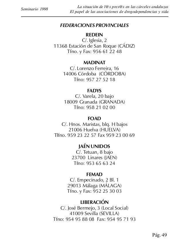 ACAT Avda. Virden del Carmen, 79 11202-ALGECIRAS (Cádiz) Tfno: 956-65.31.08 A.F.A.A.T. Avda. de la Música s/n 11130-CHICLA...