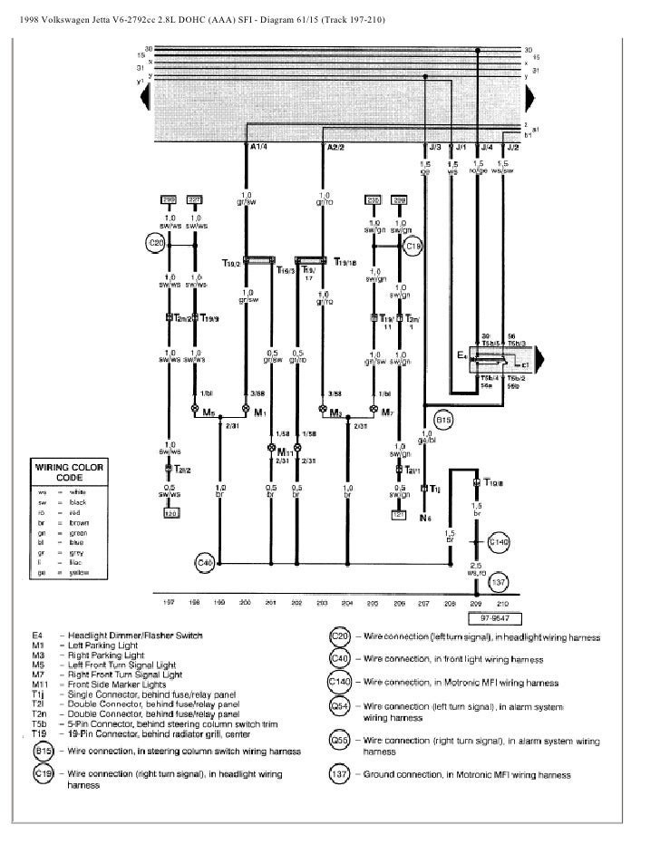 1998 Vw Jetta Gti Wiring Diagram