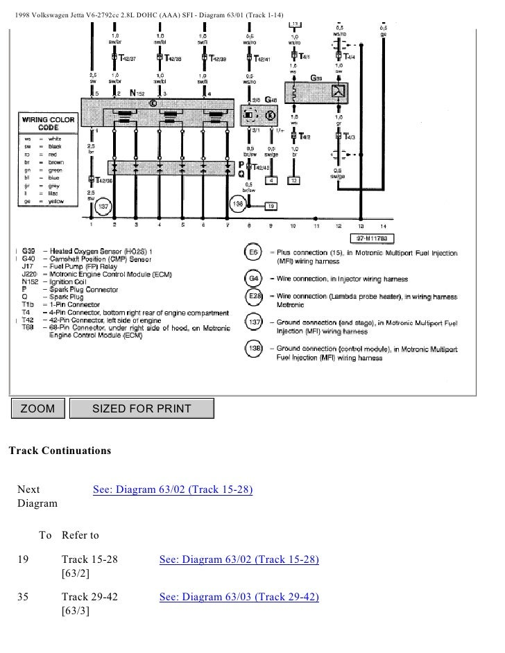 95 Jettum Wiring Diagram