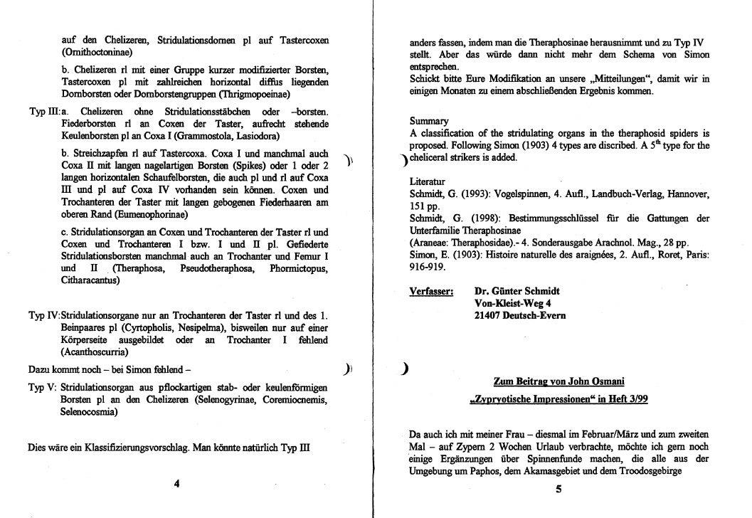 DeArGe Mitteilungen 4/1999