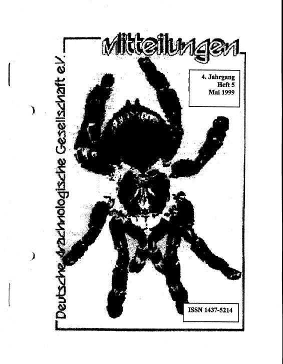 DeArGe Mitteilungen 5/1999