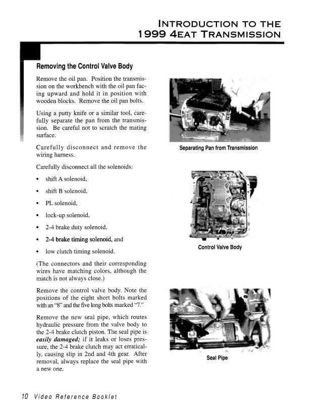 1999 4 eat transmission (video reference booklet) (1)