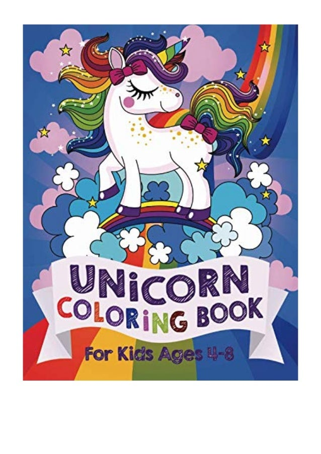 - Unicorn Coloring Book PDF - Silly Bear For Kids Ages 4-8 (US Edition)