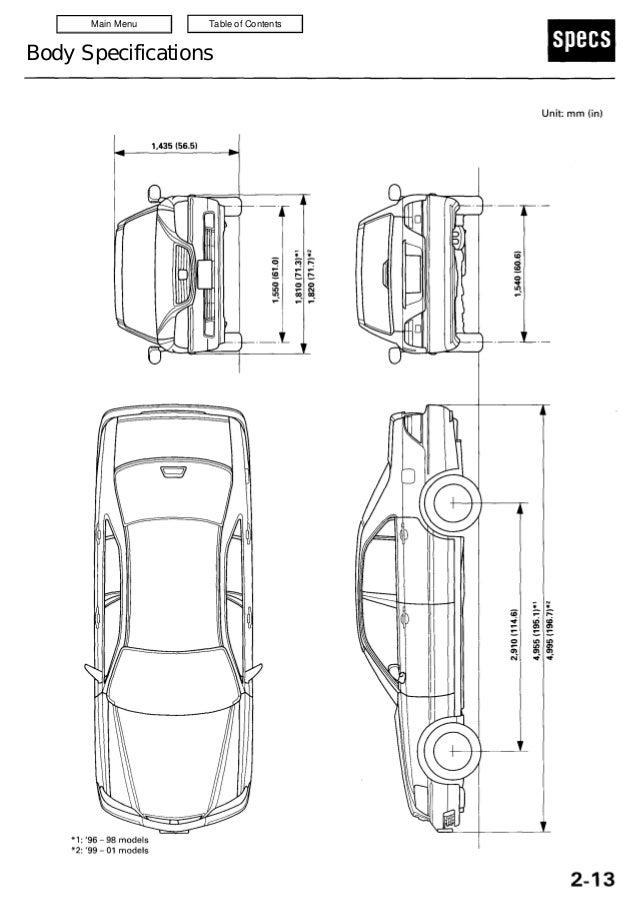 1999 Acura 3 5 Rl Service Repair Manual