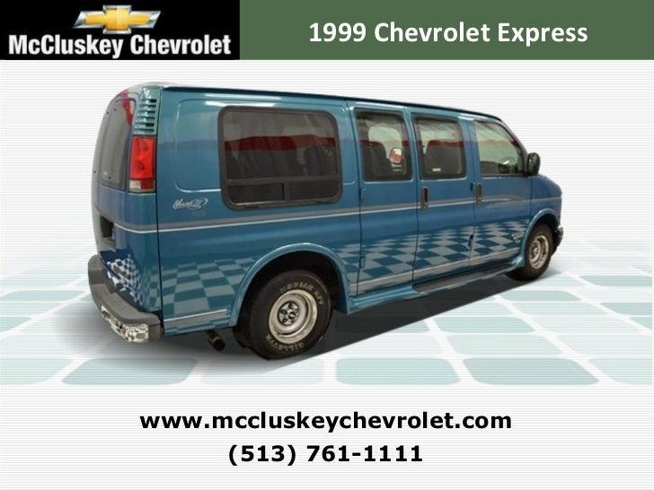 Used 1999 Chevrolet Express Van Conversion By Mark 3 Van