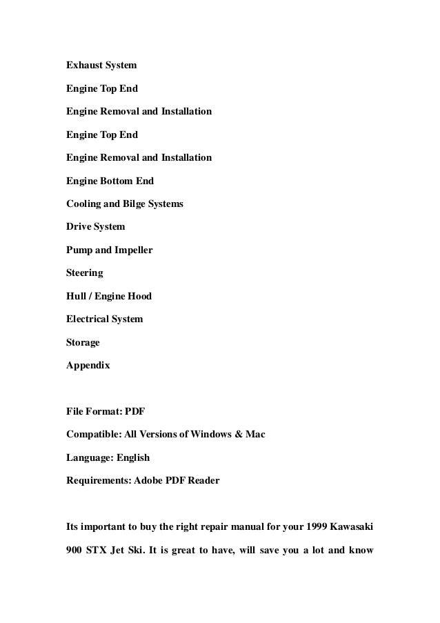 Kawasaki Stx Service Manual Download