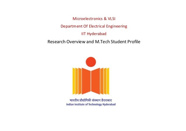 Vlsi Design Courses In Hyderabad: Research Facilities and Student Profile VLSI IITHrh:slideshare.net,Design
