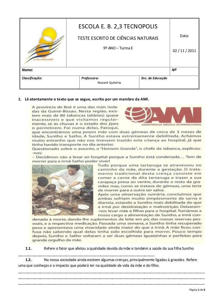 ESCOLA E. B. 2,3 TECNOPOLIS                                                                                            Dat...