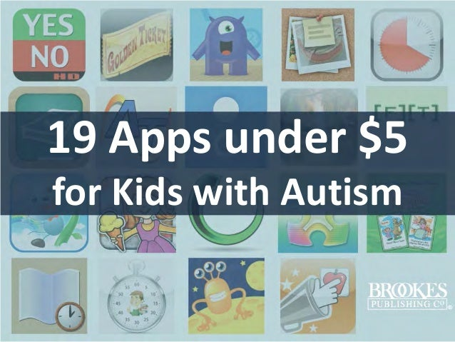 19 Apps under $5 for Kids with Autism