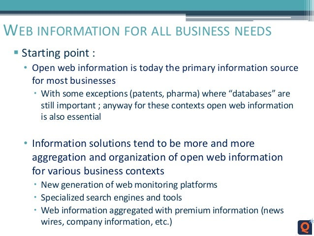 an analysis of web business Marketresearchcom provides research services tailored to your exact challenge whether it's survey work, in-depth interviewing, comprehensive desk research, competitive intelligence, or a combination of multiple methods, we have the experience to match the right methodology and the right personnel to your business need.