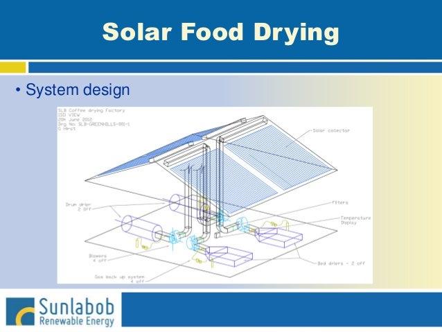 Solar Food Drying • System design