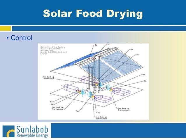 Solar Food Drying • Control
