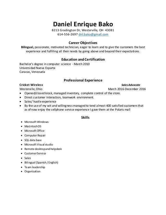 resume apple