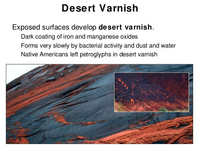 desert varnish definition