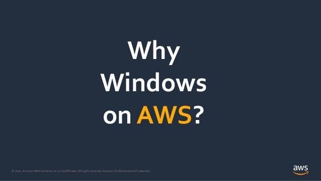 Microsoft Active Directory su AWS per supportare i tuoi Windows Workloads Slide 3
